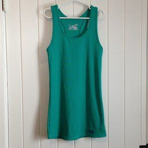 Under Armour UA fitted Heatgear tank top, Size S